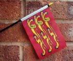 HAND WAVING FLAG (SMALL) - Richard The Lionheart